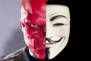 Red Skull V For Vendetta
