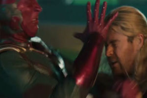 Avengers Age Of Ultron Thor V Vision