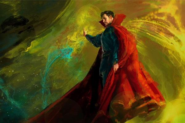 Doctor Strange: concept art for Marvel's new movie