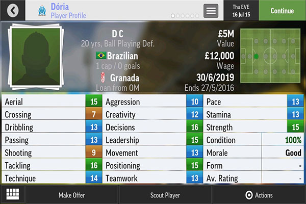 football manager 2019 mobile wonderkids