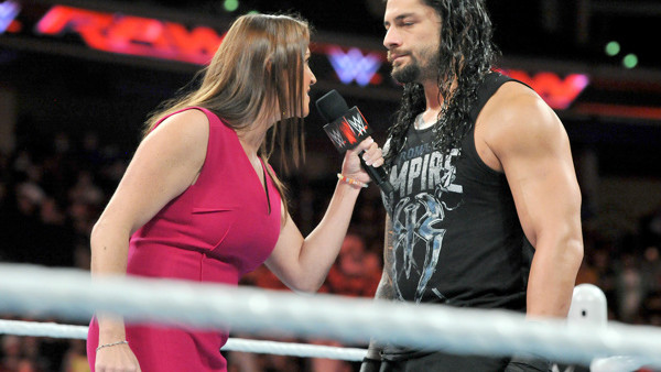 Roman Reigns stephanie mcmahon