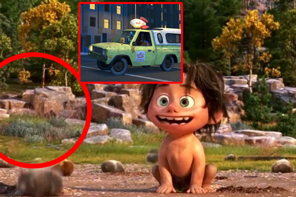 The Good Dinosaur 22 Easter Eggs References You Probably