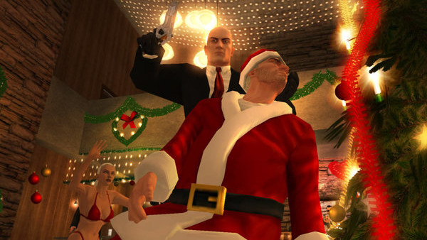 hitman blood money santa