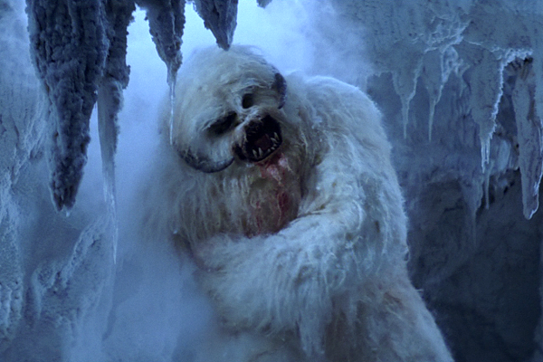 10. Empire Strikes Back: New Wampa Design & Added Shots