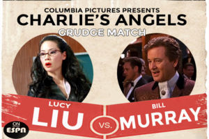 Bill Murray Lucy Liu Charlie's Angels