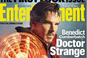 Doctor Strange Entertainment Weekly Benedict Cumberbatch