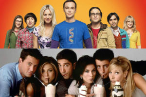 The Big Bang Theory Friends casts