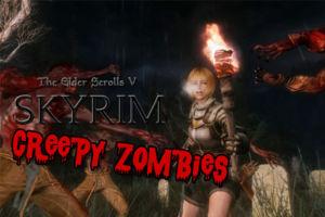 skyrim creepy zombies