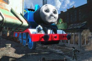 fallout 4 thomas the tank engine