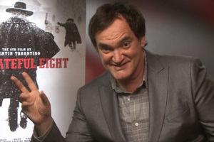 Quentin Tarantino The Hateful Eight Interview