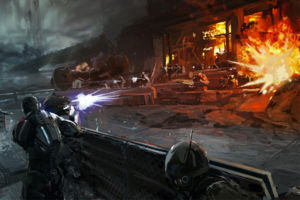 Mass effect 3 concept art