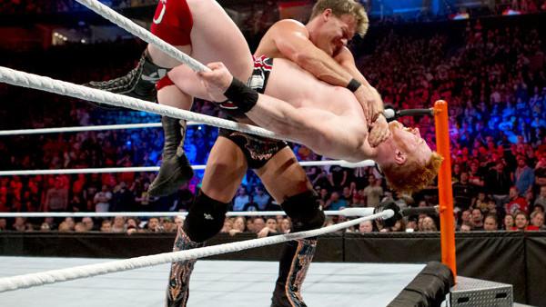 Chris Jericho Sheamus Royal Rumble 2012