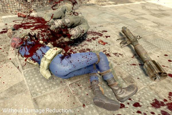 fallout 4 realistic damage