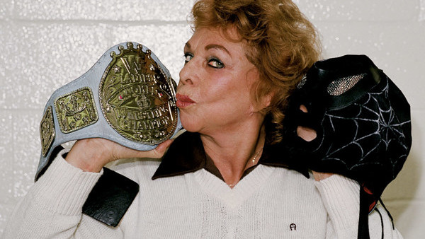 Fabulous Moolah Spider Lady