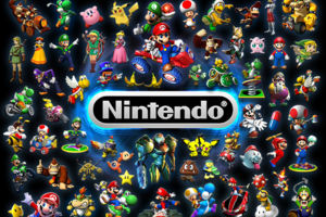 nintendo characters games