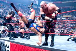 Santino Marella Royal Rumble 2009 elimination