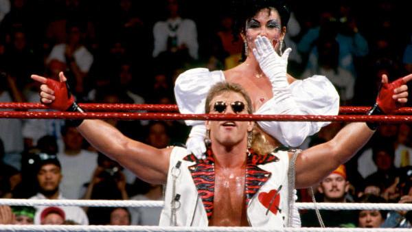 Shawn Michaels and Sherri