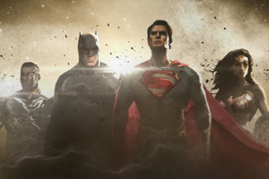 Justice League promo art