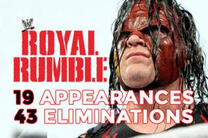 Kane Royal Rumble Records