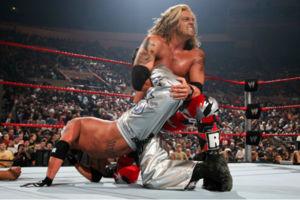 Rey Mysterio Edge Royal Rumble 2008