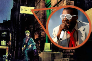 Kanye West David Bowie