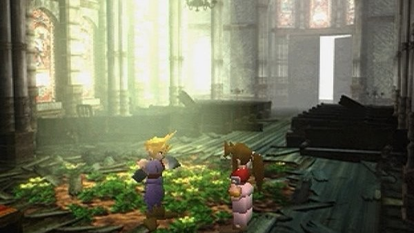 final fantasy VII aeris church