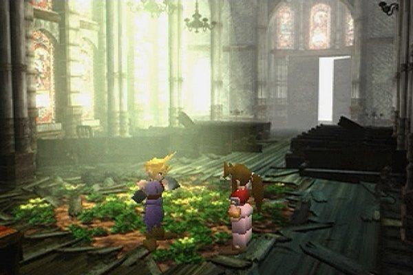 final fantasy VII aeris church