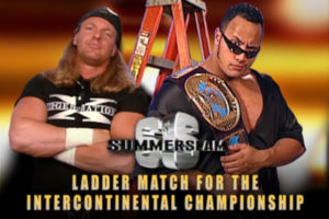 The Rock Triple H SummerSlam 1998