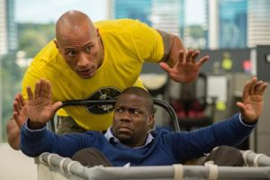 The Rock Kevin Hart Central Intelligence