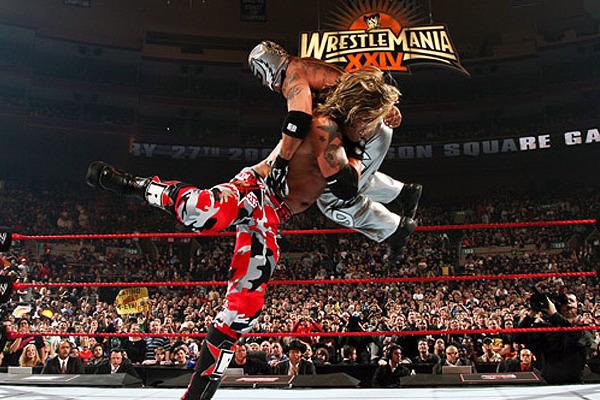 Resultado de imagem para edge vs rey mysterio 2008