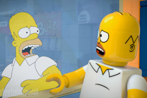 The Simpsons Brick Like Me Lego