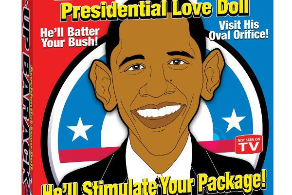 Barack obama sex doll