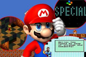 Super Mario games secrets
