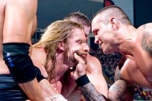 Orton Triple H 2009 Royal Rumble