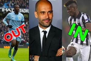 Guardiola Signings