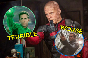 Ryan Reynolds Deadpool Green Lantern RIPD.
