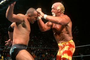 The Rock Hulk Hogan No Way Out 2003