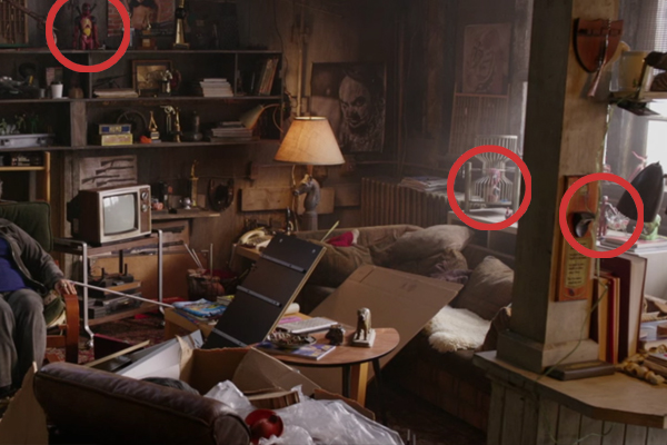 All The Deadpool Figurines In Blind Al S Apartment