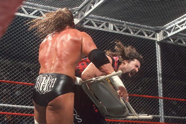Cactus Jack Triple H No Way Out 2000 Hell in a Cell