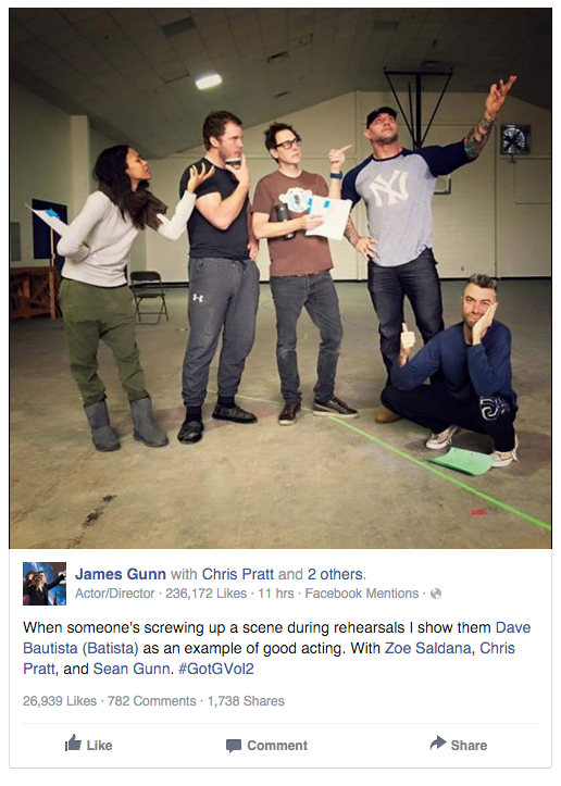 James Gunn / Facebook
