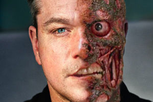 Matt Damon Two Face