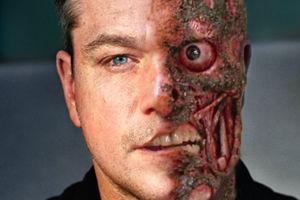 Matt Damon Two Face