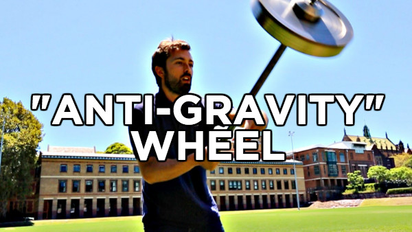 ANTIGRAVITY WHEEL