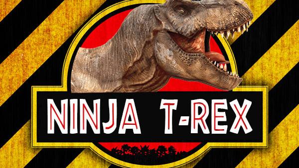 Jurassic Park Ninja TRex