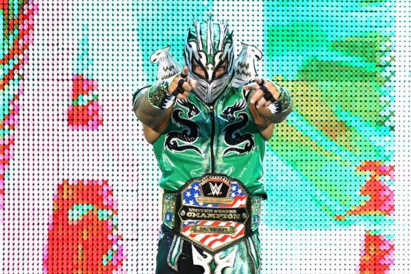 Kalisto WWE United States Title