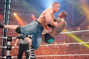 John Cena Batista WrestleMania 26
