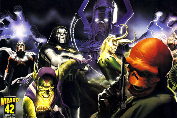 15 Greatest Marvel Comic Book Villains Of All Time