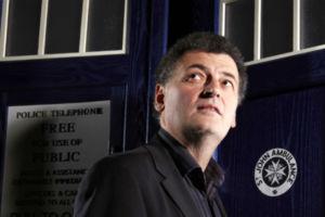 Steven Moffat TARDIS