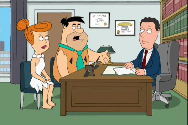 Flintstones Family Guy