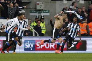 File photo dated 20-03-2016 of Newcastle United's Aleksandar Mitrovic